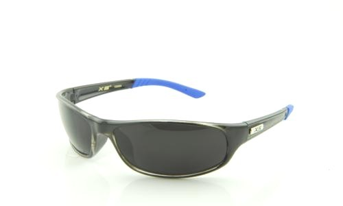 BLACK BLUE WITH BLACK LENS