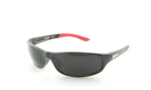 BLACK RED WITH BLACK LENS