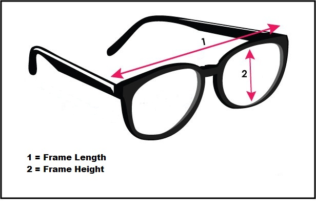 Glasses Frame Measurements : Reading Glasses USD8 Designer Cheap - SunglassesLove.com